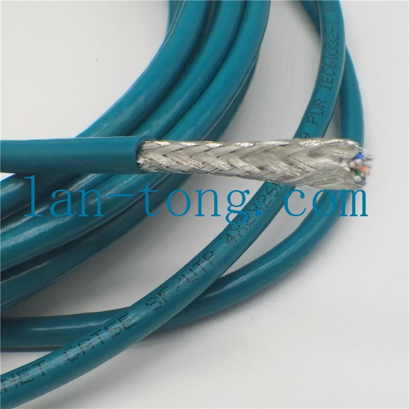 8芯CAT5e拖链线缆_柔性拖链双绞网线_超五类高柔性拖链屏蔽网线