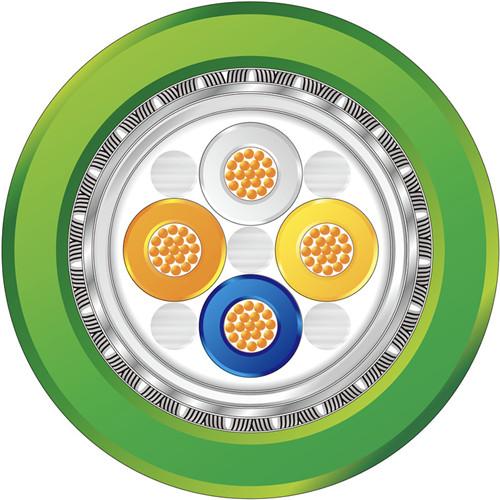 ProfiNet Type C 4XAWG22/19 19股 PUR绿色 运动布线