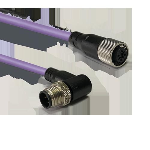 PROFIBUS-DP M12-M12线束电缆
