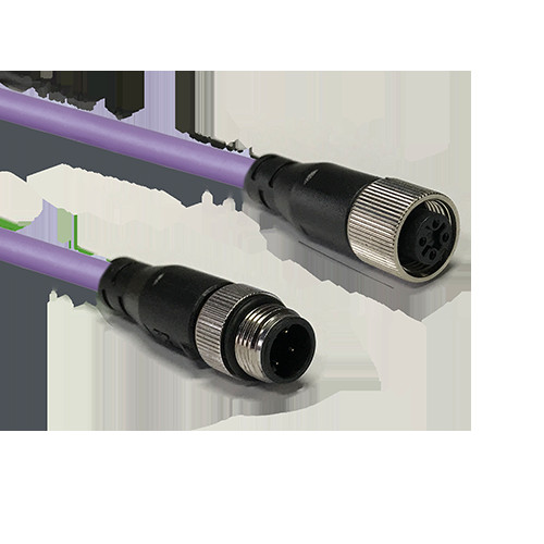 DeviceNet/CANopen  M12接头电缆